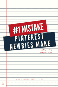 There is one thing that all beginners tend to do wrong. Well, as a beginner I'll help you through the biggest Pinterest mistake.