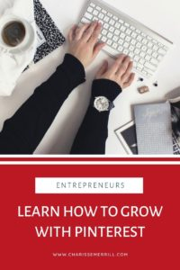LOVE using Pinterest but have 100% no clue how to use it to grow your business?  Learn how to get the the head of a Pinterest user to grow your business