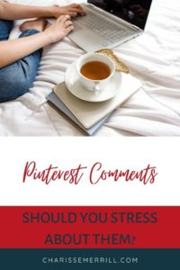 """You've probably heard that Pinterest is NOT a social media platform. So, up comes the question """"Do Pinterest comments matter?"""""""