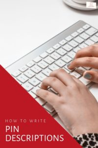 Are you struggling with how to write a pin description when creating new pins for Pinterest?  Bad news-> it can be really hard to understand at first.  Good n