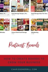 Triyng to figure out how to best set up your Pinterest boards for business so you can get more traffic to your products and make more sales?