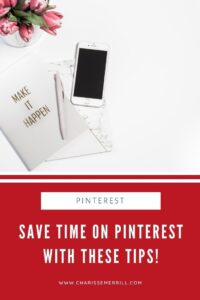 Did you know you can be massively successful with Pinterest with only spending 10 min a day on the platform? Learn 4 tips to save time on Pinterest