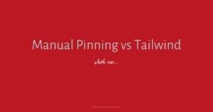 Manual Pinning vs Tailwind... which is better? If you've been utilizing Pinterest, then there's an 80% chance you are using Tailwind. But