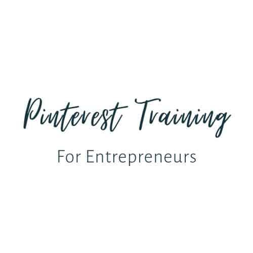 Pinterest Training for Entrepreneurs